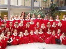 Dětský pěvecký sbor ze ZUŠ Valašské Meziříčí